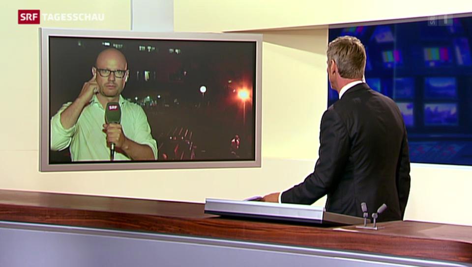 SRF-Korrespondent Pascal Weber