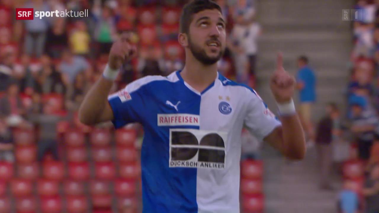 Fussball: GC-Stürmer Dabbur vor dem Spitzenspiel in Basel