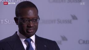 Video «Credit Suisse verliert massiv» abspielen
