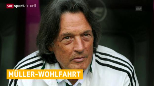 Video «Fussball: Müller-Wohlfahrt nicht mehr Bayern-Arzt («sportaktuell»)» abspielen