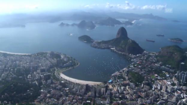 Video «Dreckiges Wasser in Rio: Gesundheit der Segler gefährdet?» abspielen