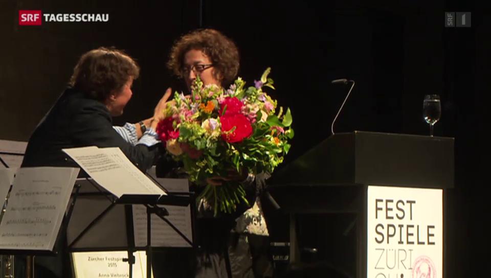 Theaterpreis für Bühnenbildnerin