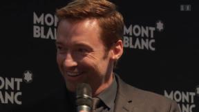 Video «Hollywood-Superstar Hugh Jackman an der Genfer Uhrenmesse» abspielen