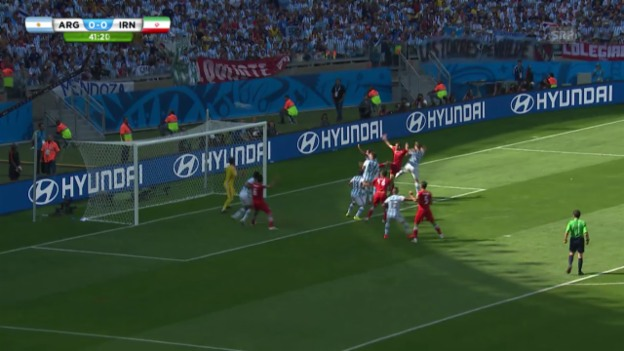 Video «Argentinien - Iran: Die Live-Highlights» abspielen