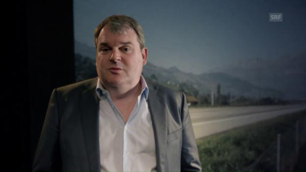 Video «Mike Müller als Reporter: «A1 - Ein Streifen Schweizer Strasse»» abspielen