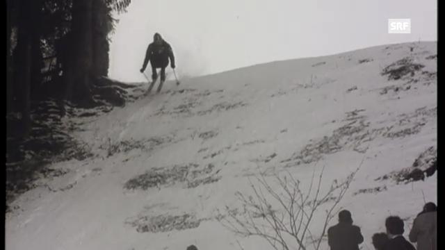 1961: Abfahrtssieg von Périllat