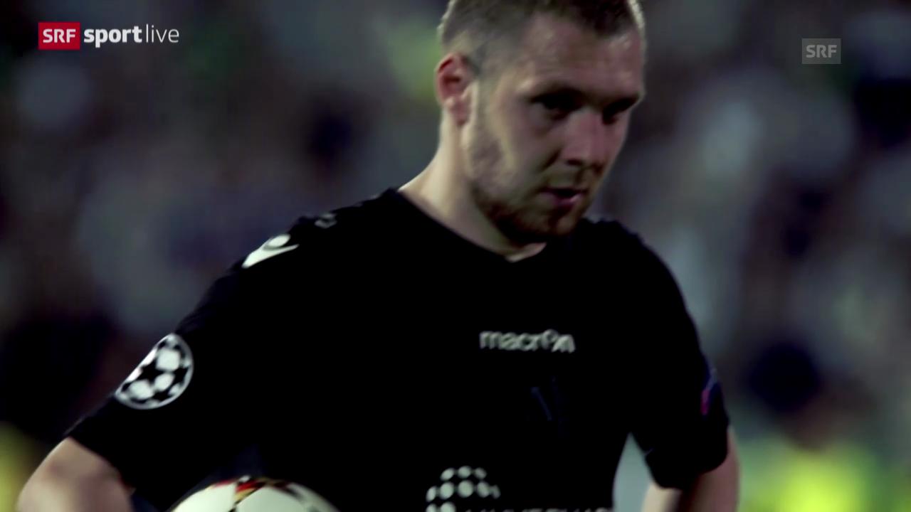 Fussball: Ludogorets' Penaltykiller Moti