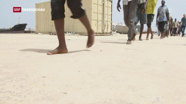Video «Hoffnungsschimmer für Libyen» abspielen