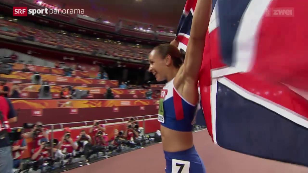 Leichtathletik: WM in Peking, Siebenkampf der Frauen