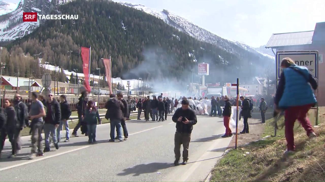 Schwierige Grenzkontrolle zwischen Italien und Österreich