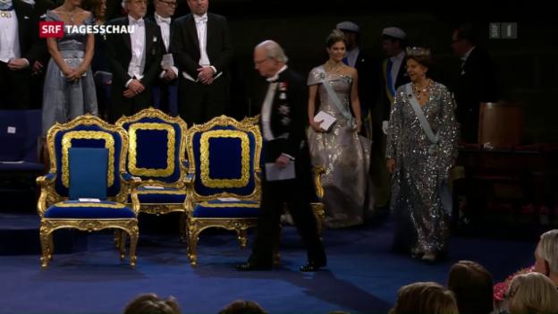 Video «Nobelpreisverleihung ohne Bob Dylan» abspielen