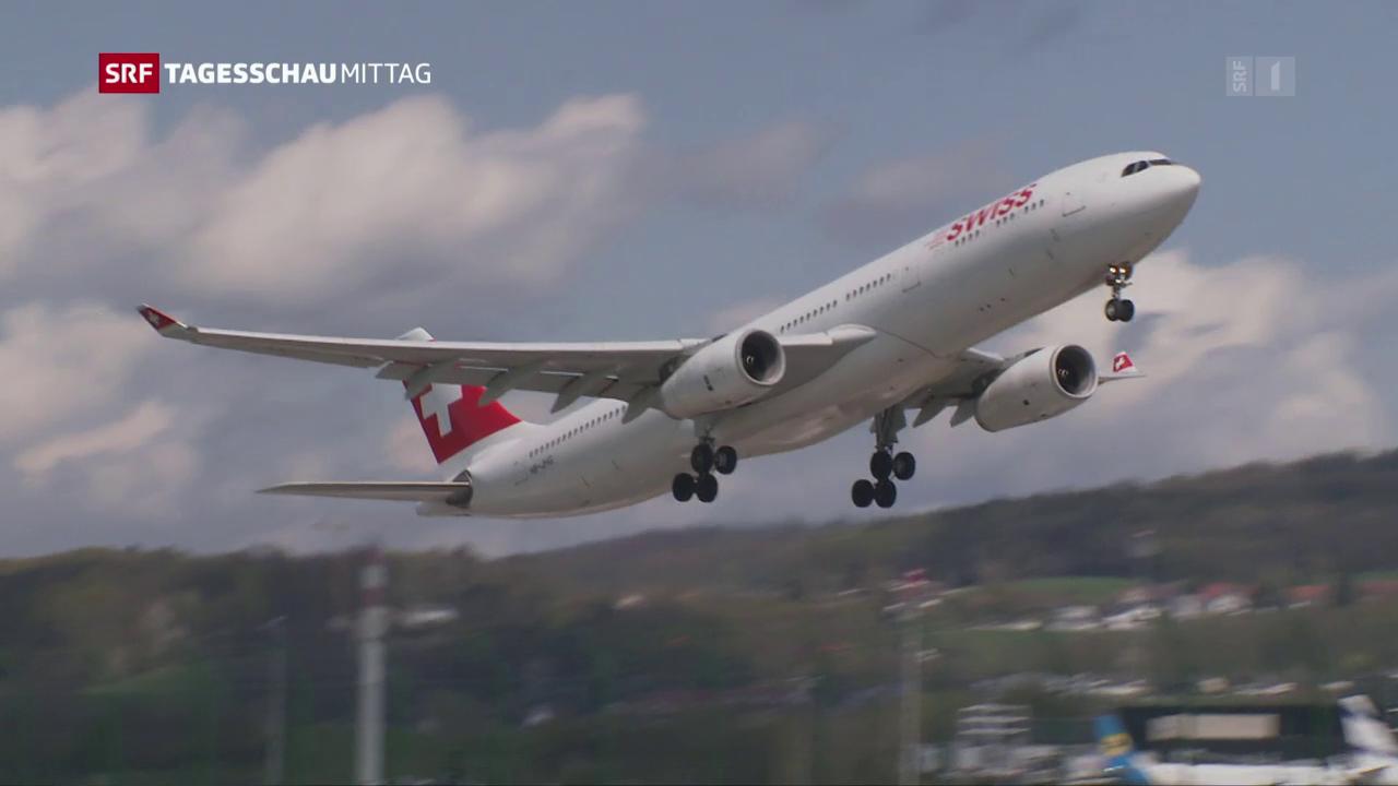Die Swiss im Höhenflug