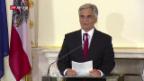 Video «Österreichs Bundeskanzler tritt zurück» abspielen