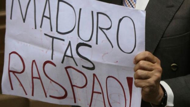 Die venezuelanische Regierung ist zu allem bereit