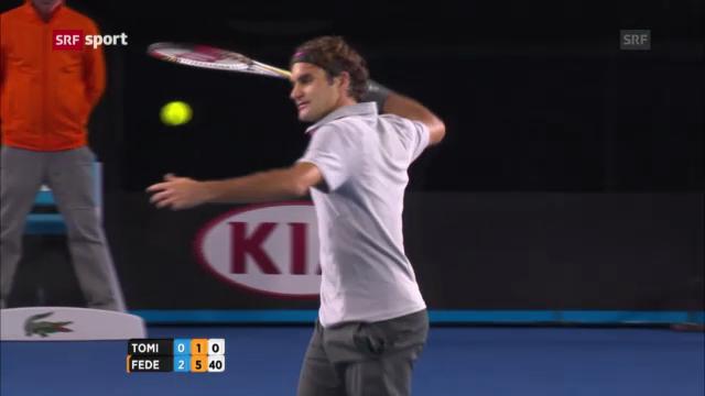 Australian Open: Federer - Tomic