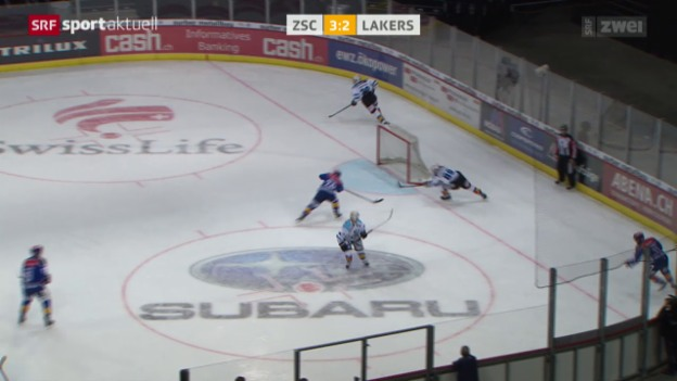 Video «Eishockey: ZSC Lions - Lakers» abspielen