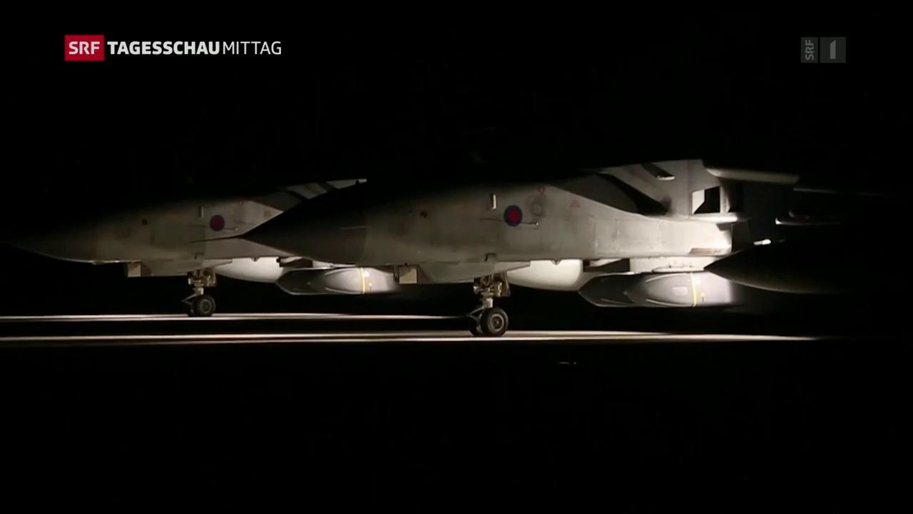 Stellungnahme der Alliierten gegen Syrien