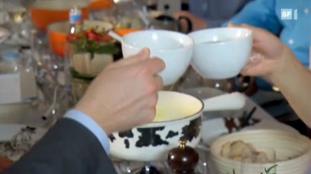 Fondue verdauen - besser mit Kirsch oder mit Schwarztee?