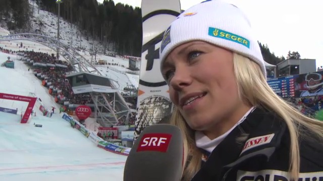 WM-Slalom: Interview Hansdotter