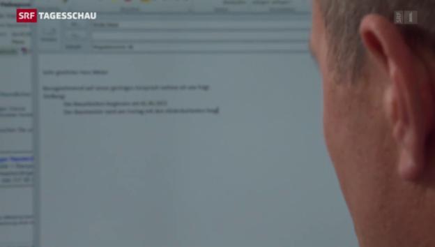 Video «Trojaner «Dyre» verbreitet sich lawinenartig in der Schweiz» abspielen