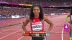 Video «Erfolgreiche Schweizerinnen in den 200-m-Vorläufen» abspielen