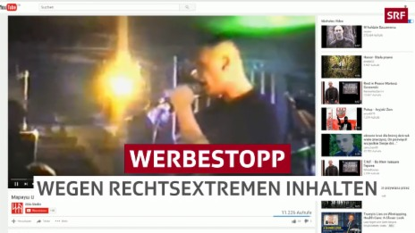 Link öffnet eine Lightbox. Video Erste Schweizer Firmen stoppen Werbung auf YouTube abspielen