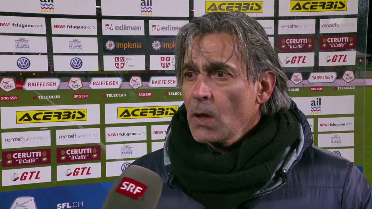 Jacobacci:« Die Mannschaft hat dennoch Moral bewiesen»