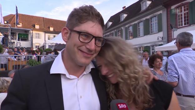 Video «David Bröckelmann wie frisch verliebt» abspielen