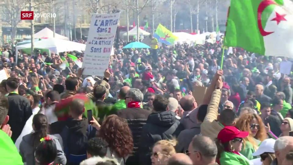 Aus dem Archiv: Algeriens Präsident Bouteflika erklärt seinen Rücktritt