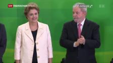Video «Dilma Roussef droht die Absetzung» abspielen