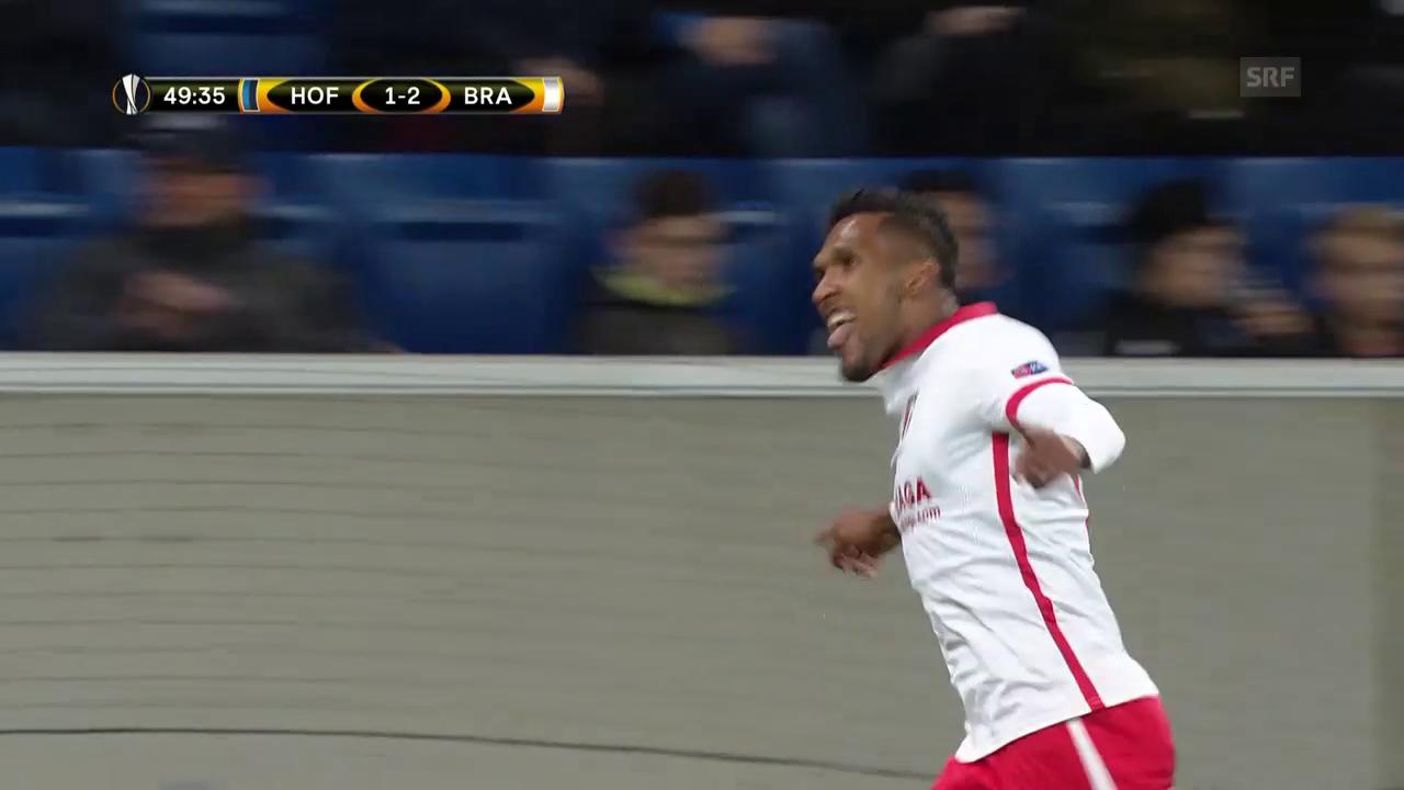 Braga dreht Partie gegen Hoffenheim