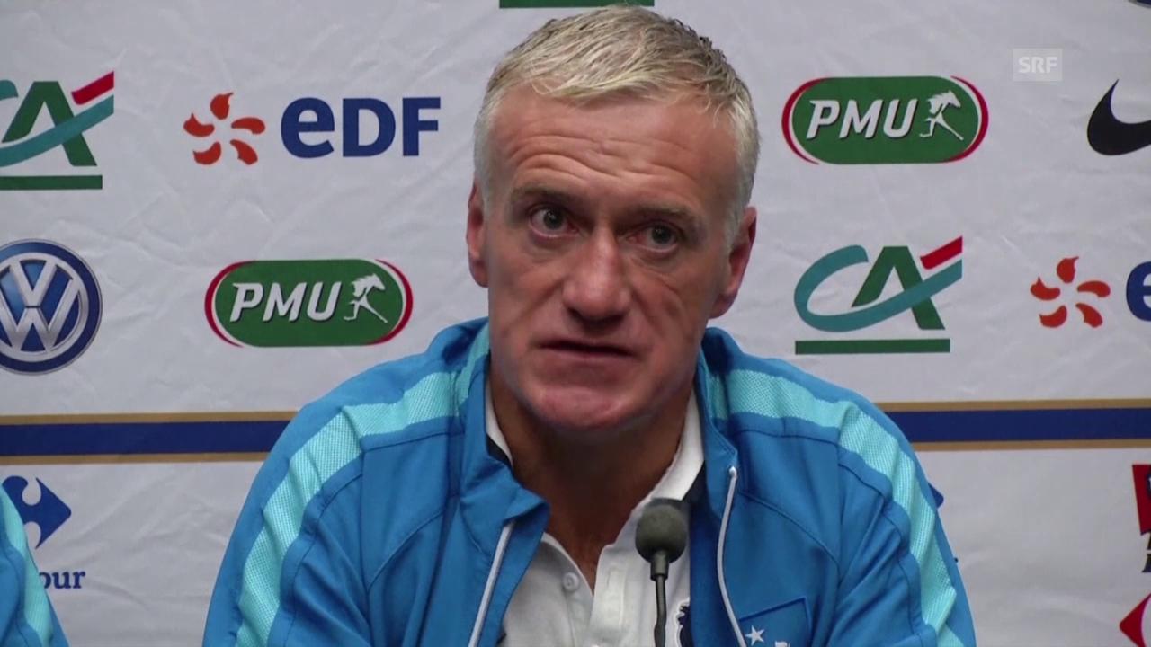 Fusball: England - Frankreich, Deschamps über Diarra