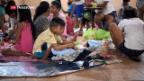 Video «Taifun auf den Philippinen und Hurrikan «Florence»» abspielen