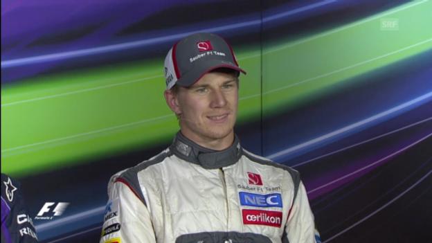 Video «Interview mit Nico Hülkenberg (englisch)» abspielen