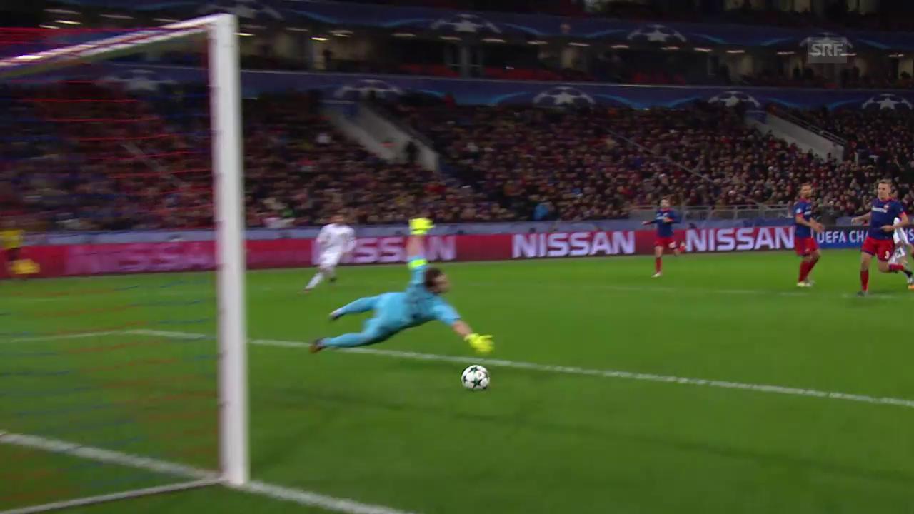 Starker FC Basel siegt bei ZSKA Moskau 2:0