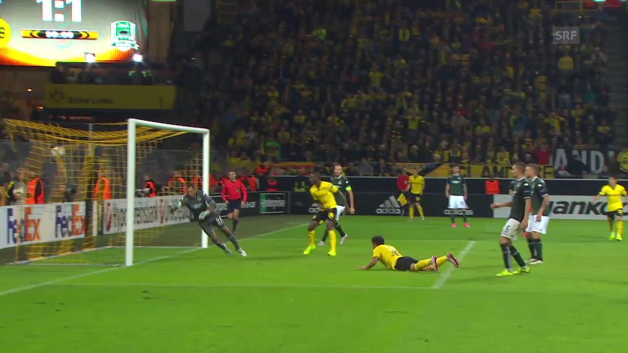 Fussball: Europa League, Dortmund - Krasnodar
