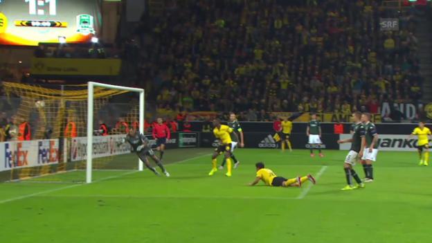 Video «Fussball: Europa League, Dortmund - Krasnodar» abspielen