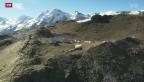 Video «Leeres Basis-Lager am Fusse des Matterhorns» abspielen