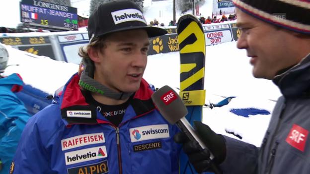 Video «Ski: Interview Aerni» abspielen
