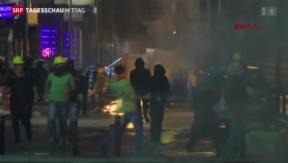 Video «Kämpfe zwischen Kurden und türkischen Polizisten» abspielen