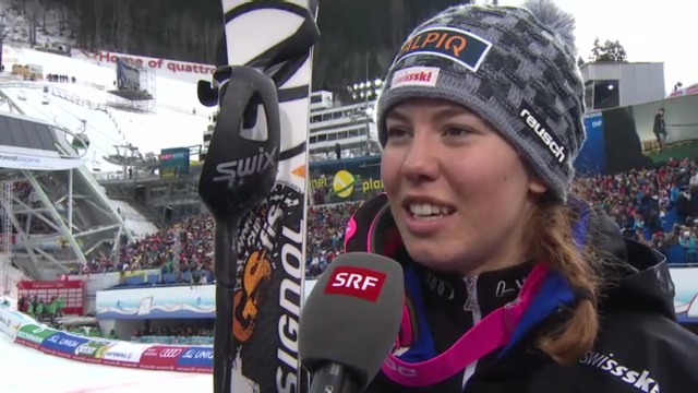 WM-Slalom: Interview Gisin