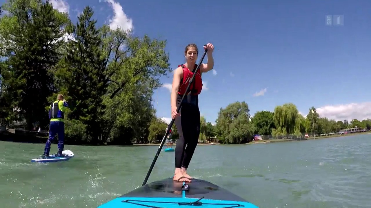 Spass auf dem Wasser: Stand-up-Paddles im Test