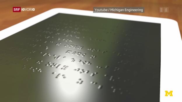 Video «Tablet für Blinde» abspielen