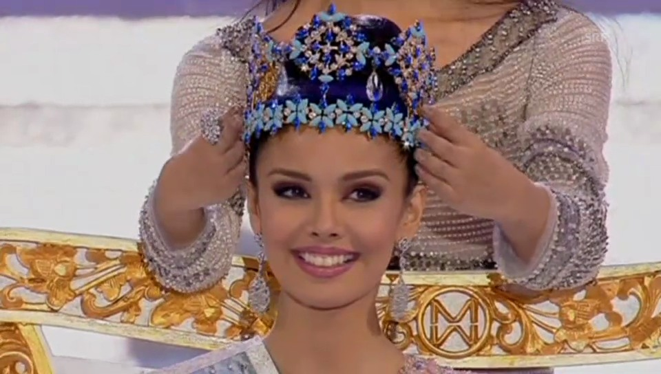Bekanntgabe der Miss World 2013