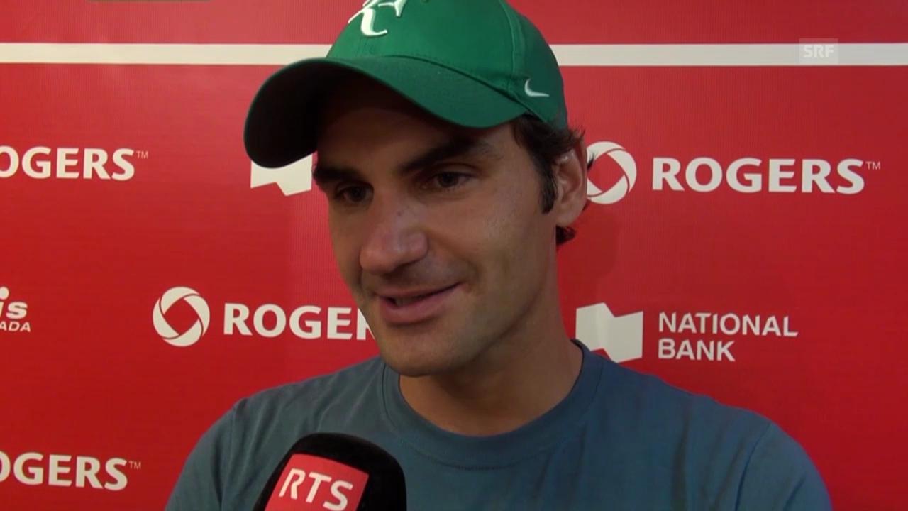 Tennis: Federer zum Halbfinal gegen Lopez