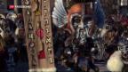 Video «Wildes Treiben am Güdismontag-Umzug» abspielen