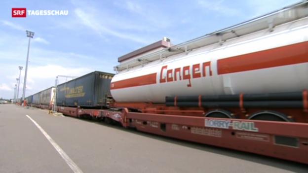Video «Masterplan für den Güterverkehr» abspielen