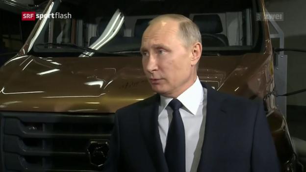 Video «Putin erwägt keinen Boykott» abspielen
