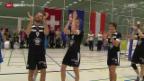 Video «Volleyball: TV Schönenwerd im Europacup» abspielen
