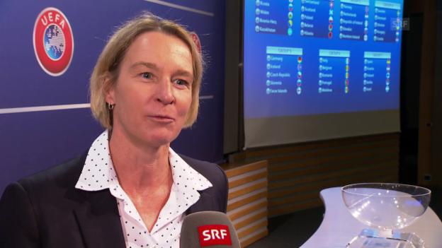 Video «Voss-Tecklenburg: «Wir werden nicht einfach durchmarschieren»» abspielen